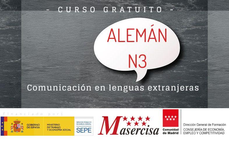 Curso de Comunicación en lenguas extranjeras – Alemán N3