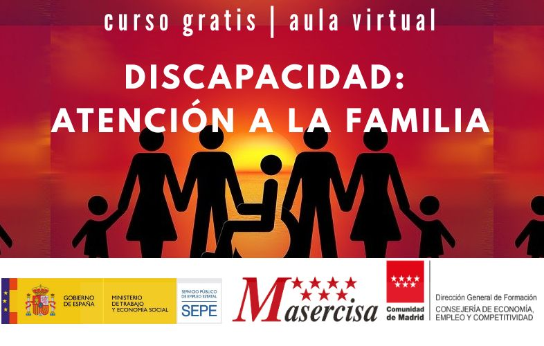 Curso de Discapacidad: atención a la familia