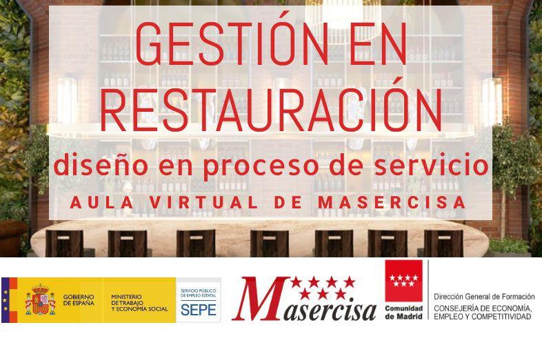 Curso de Gestión en restauración: diseño en proceso de servicio