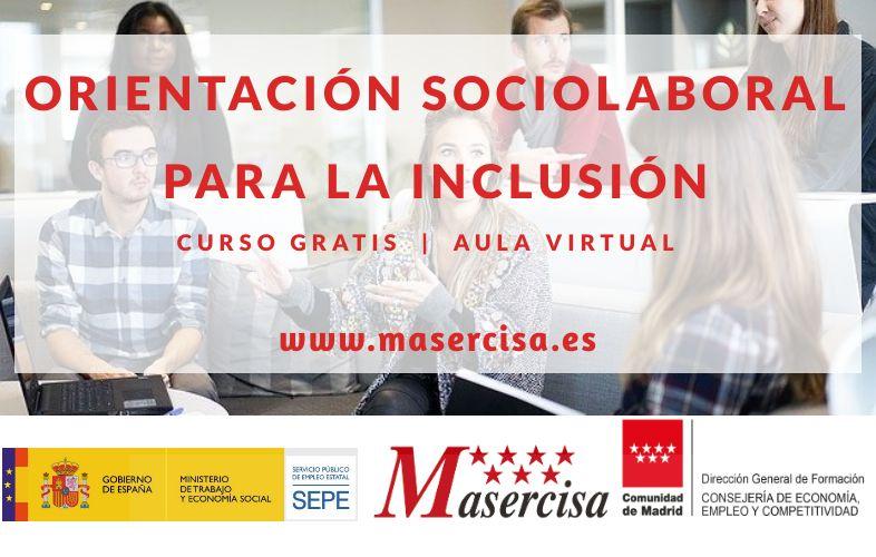 Curso Orientación sociolaboral para la inclusión