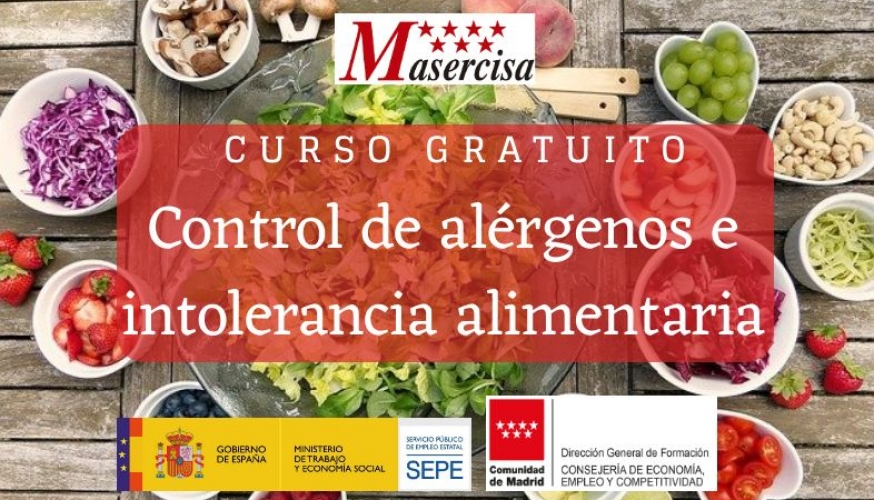 Curso de Control de alérgenos e intolerancia alimentaria