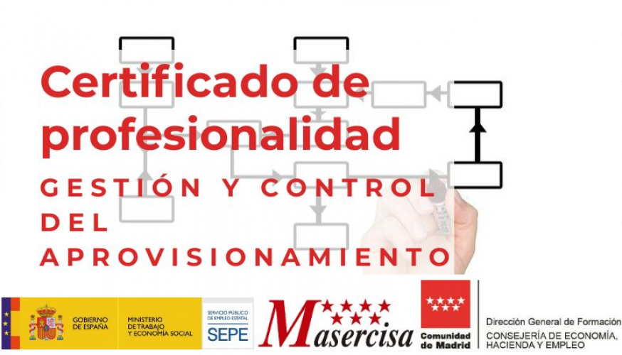 Certificado de Profesionalidad en Gestión y control del aprovisionamiento