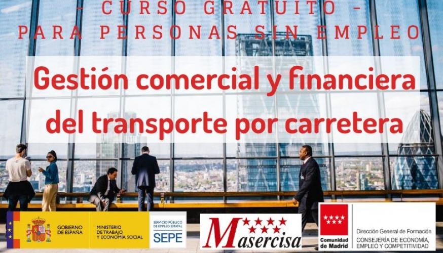 Certificado de profesionalidaden Gestión comercial y financiera del transporte por carretera