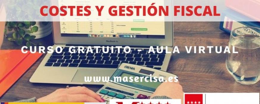 Curso de Gestión contable general y de costes y gestión fiscal