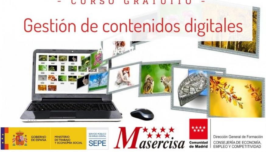 Curso de Gestión de contenidos digitales