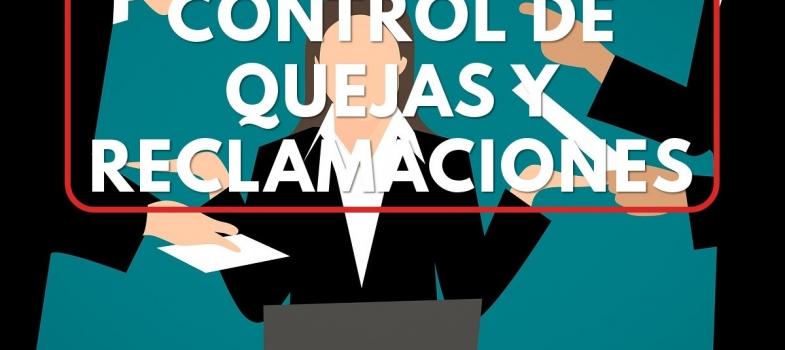 Curso control de quejas y reclamaciones