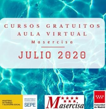 Cursos julio 2020 Aula virtual