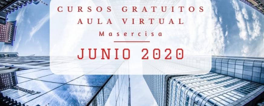 Cursos junio 2020 Aula virtual