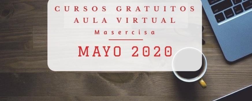 Cursos mayo 2020 Aula virtual