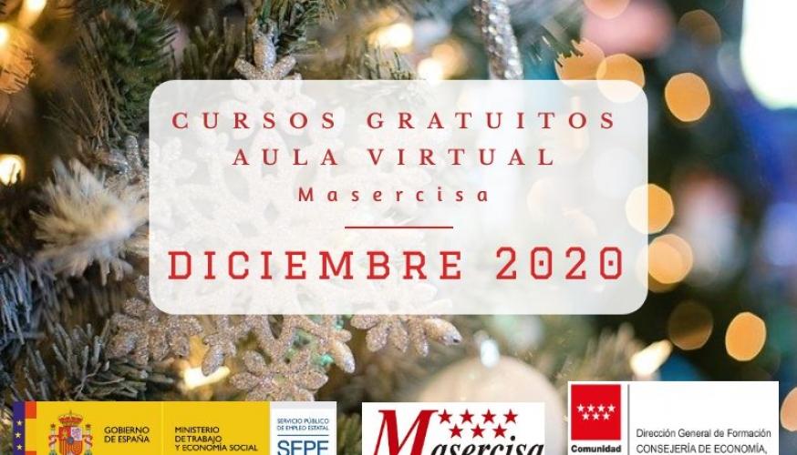 Cursos diciembre 2020 Aula virtual
