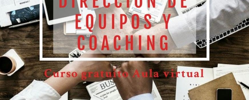 Curso de dirección de equipos y coaching
