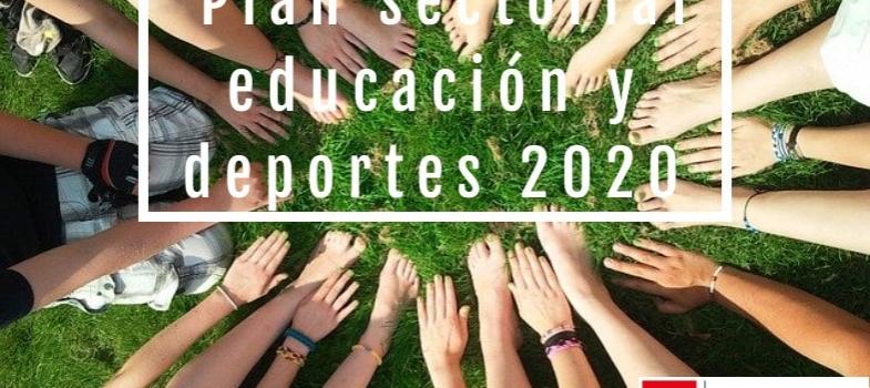 Cursos gratis sector Educación y deportes 2020