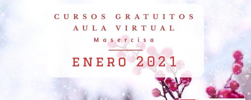 Cursos enero 2021 Aula virtual