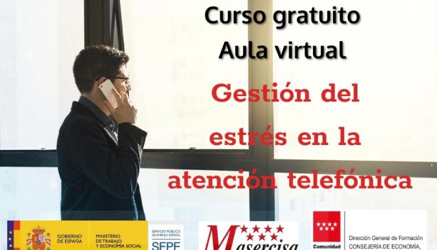 Curso de Gestión del estrés en la atención telefónica