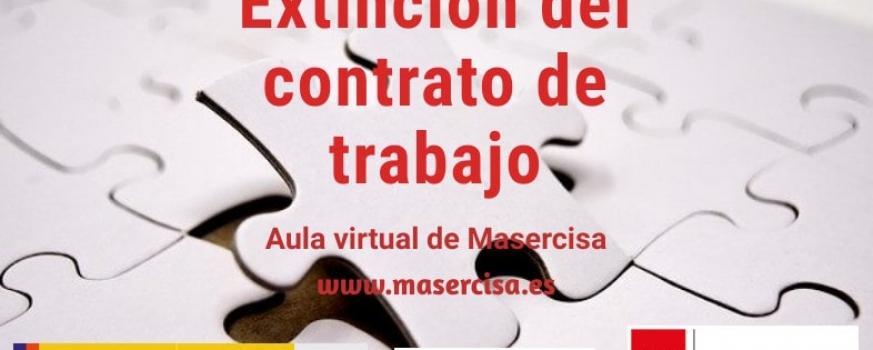 Curso de extinción del contrato de trabajo