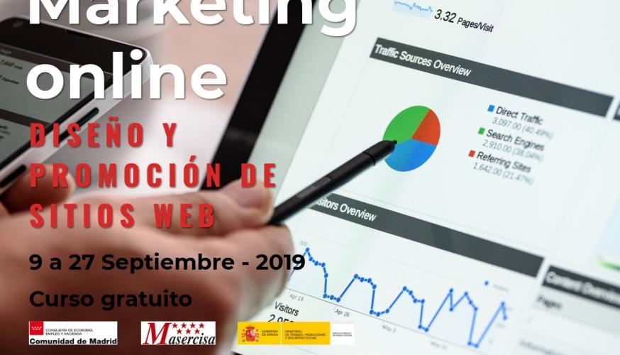 Curso de Marketing online: diseño y promoción de sitios web