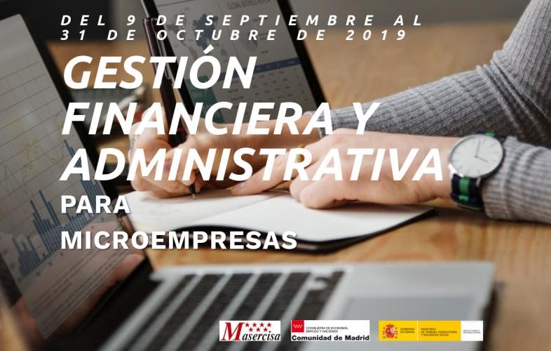 Curso de gestión financiera y administrativa para microempresas