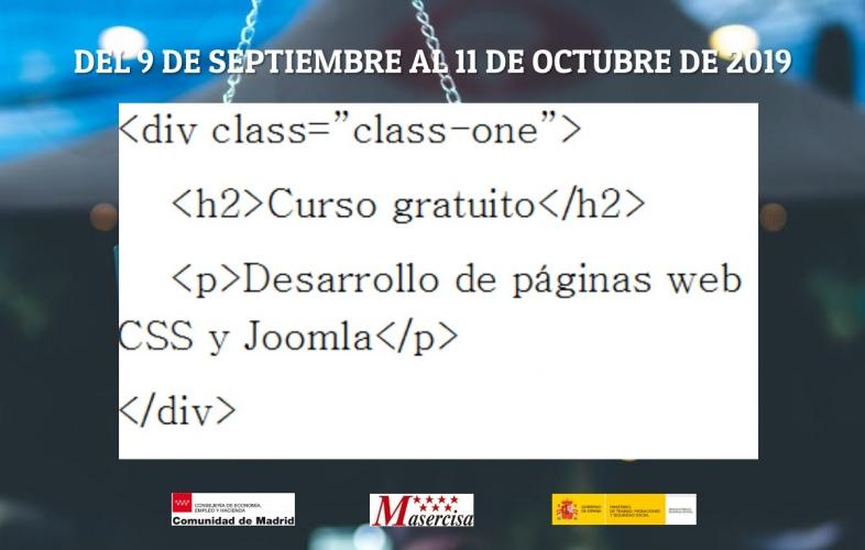 Curso Desarrollo de páginas web CSS y Joomla