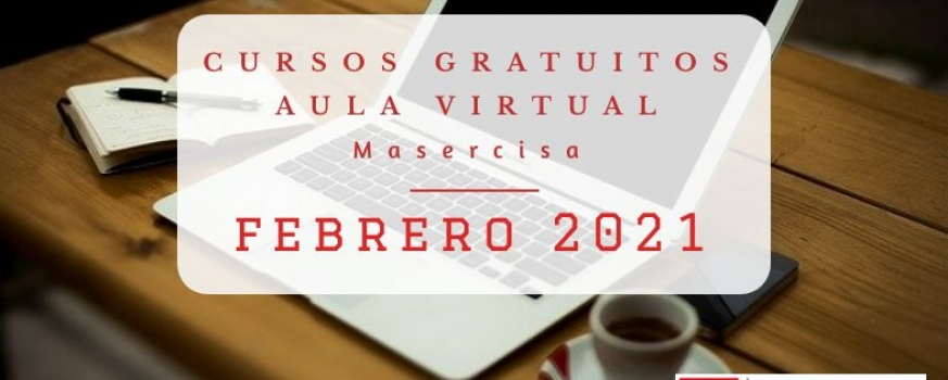 Cursos febrero 2021 Aula virtual