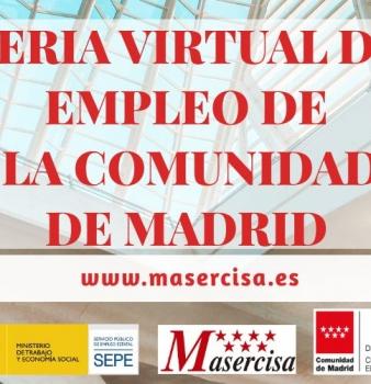 Feria Virtual de Empleo de la Comunidad de Madrid