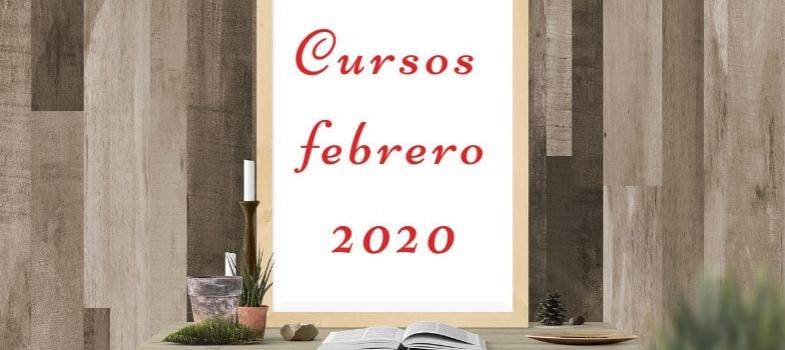 Cursos de febrero 2020