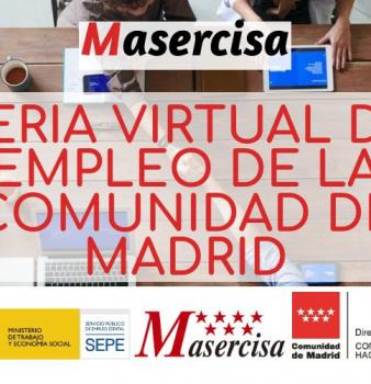 Feria Virtual de Empleo de la Comunidad de Madrid 2021