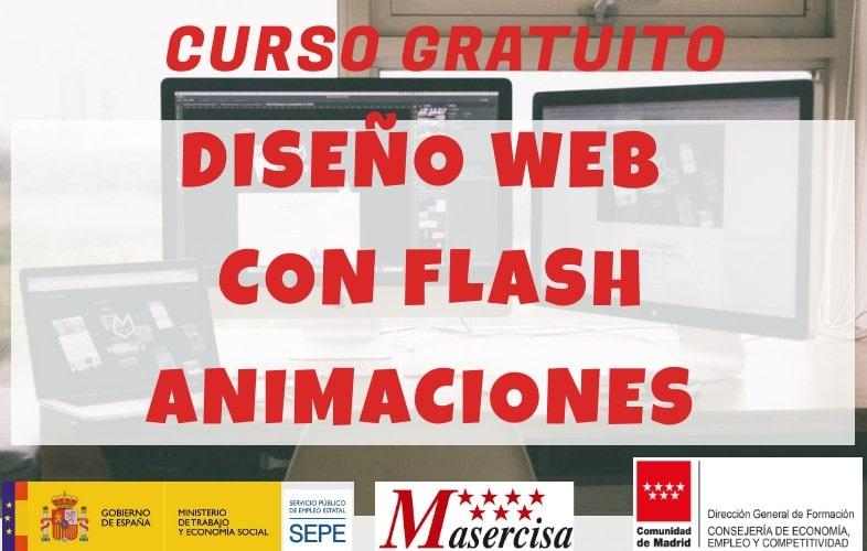 Curso de diseño web con flash animaciones