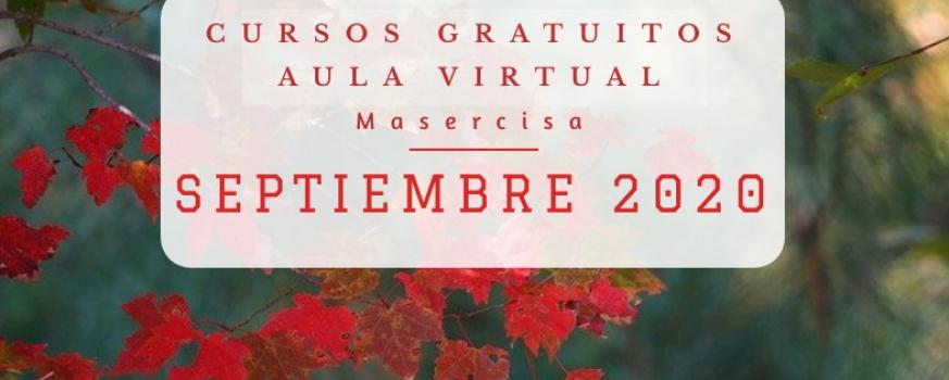 Cursos septiembre 2020 Aula virtual