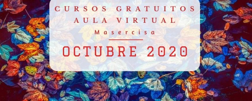 Cursos octubre 2020 Aula virtual