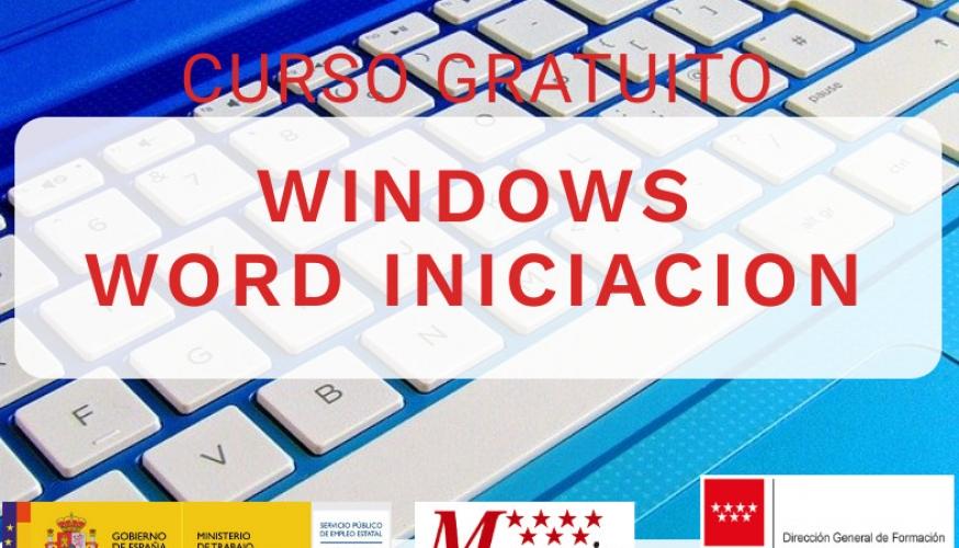 Curso de Windows y Word iniciación