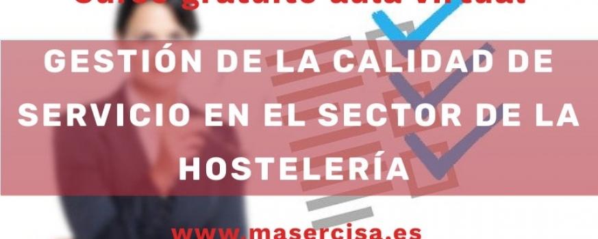 Curso de gestión de la calidad del servicio en el sector de la hostelería