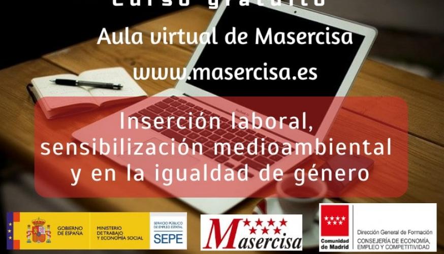 Curso de Inserción laboral, sensibilización medioambiental y en la igualdad de género