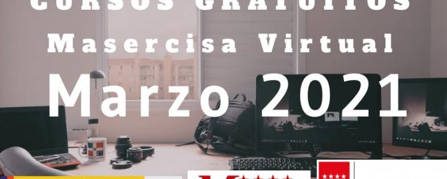 Cursos marzo 2021 Aula virtual