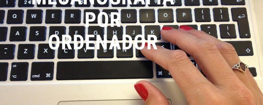 Curso de mecanografía por ordenador
