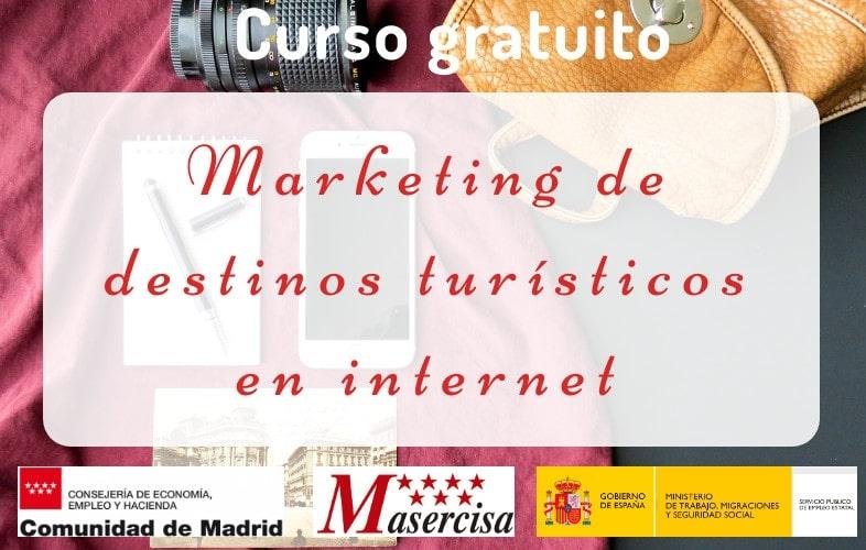 Curso de Marketing de destinos turísticos en internet