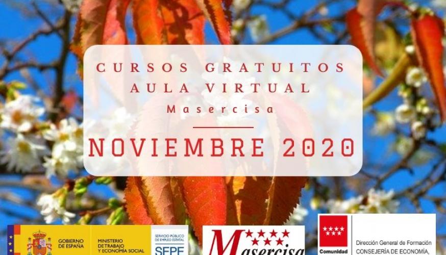 Cursos Noviembre 2020 Aula virtual