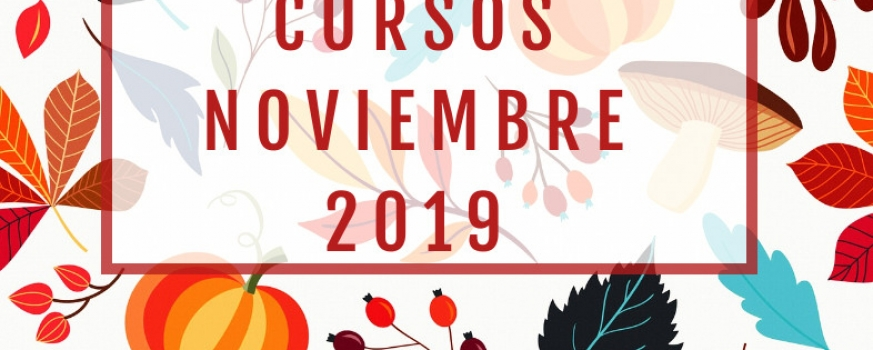 Cursos de Noviembre 2019