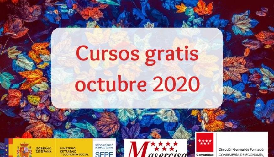 Cursos octubre 2020