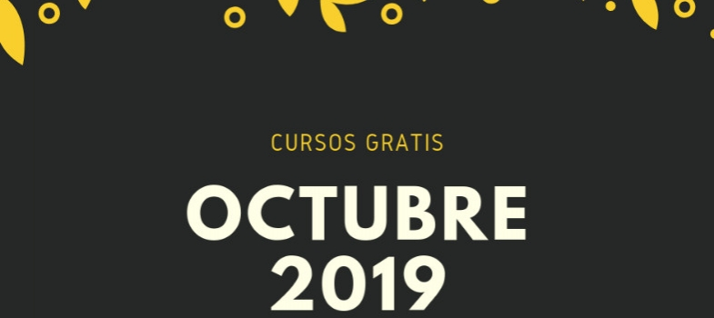 Cursos de Octubre 2019