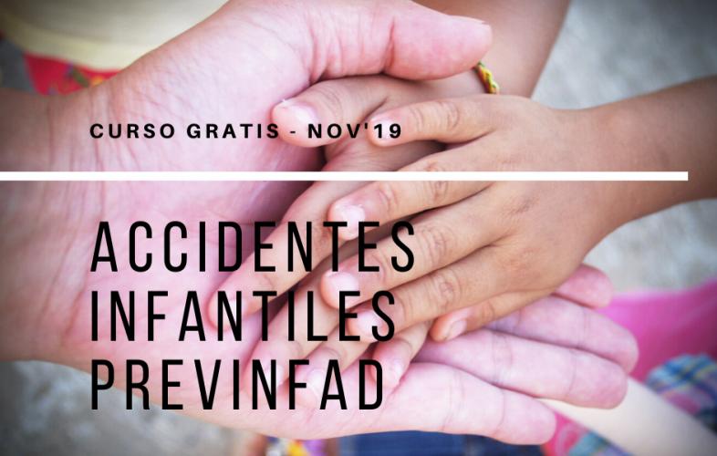 Curso de accidentes infantiles Previnfad