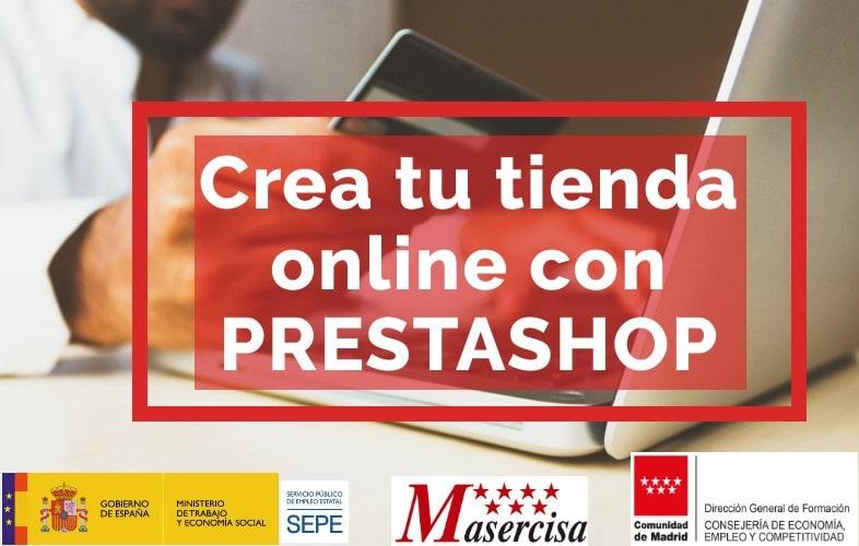 Curso crea tu tienda online con Prestashop