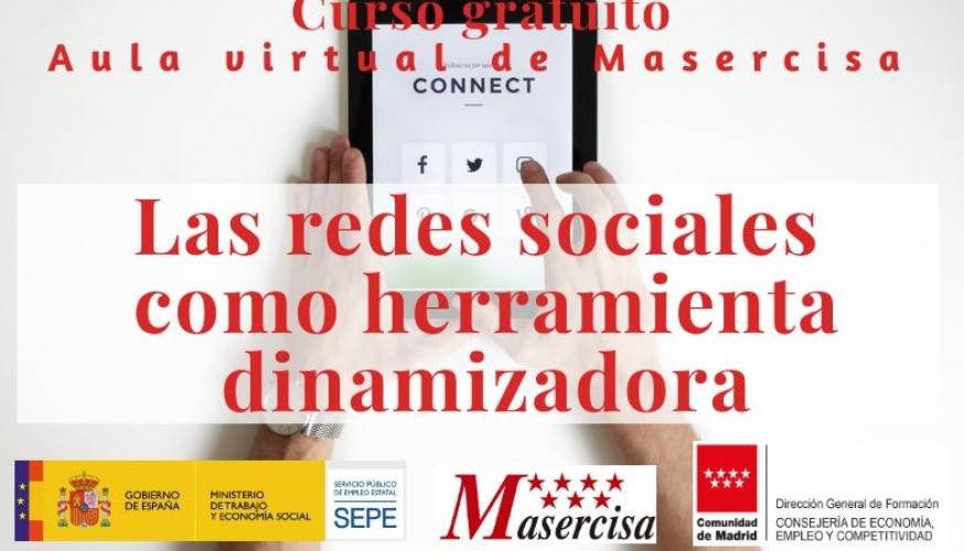 Curso Las redes sociales como herramienta dinamizadora