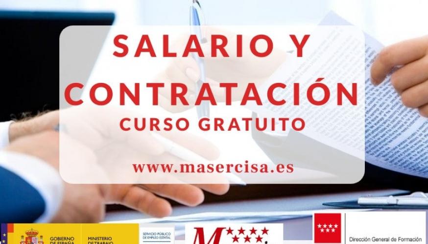 Curso de salario y contratación