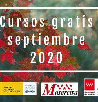 Cursos septiembre 2020