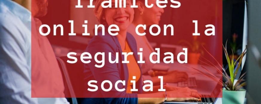 Curso de trámites online con la seguridad social
