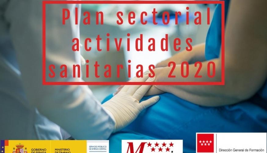 Cursos gratis sector Actividades sanitarias 2020
