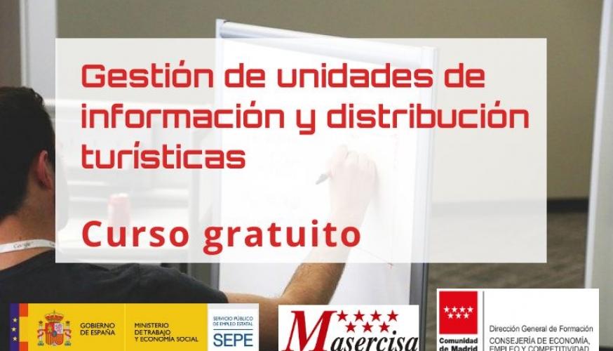 Curso de gestión de unidades de información y distribución turísticas