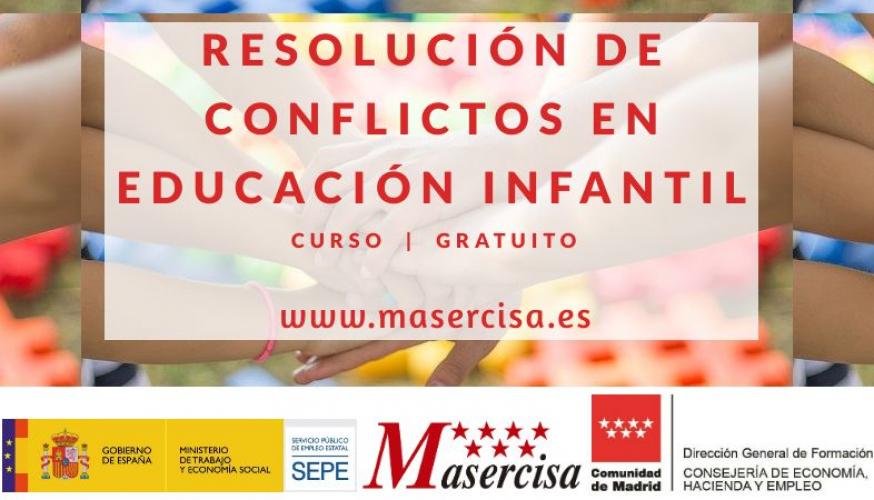 Curso de Resolución de conflictos en educación infantil
