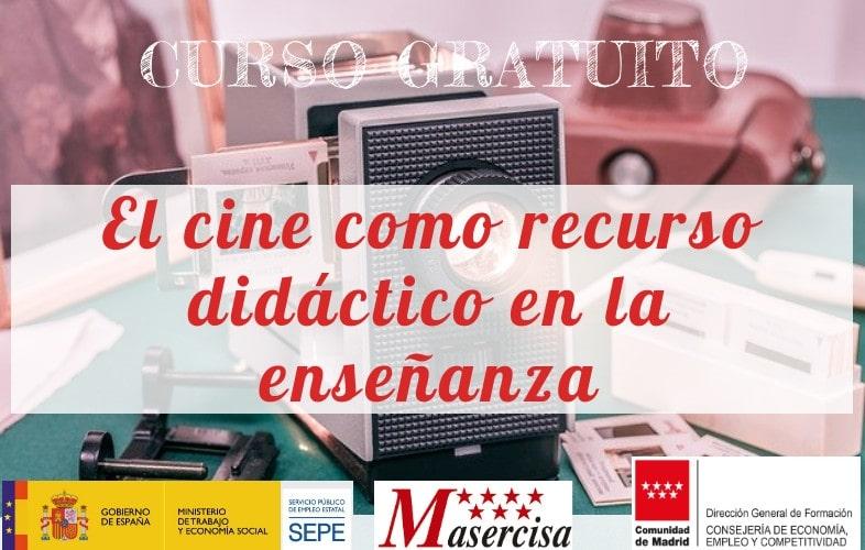 Curso de El cine como recurso didáctico en la enseñanza