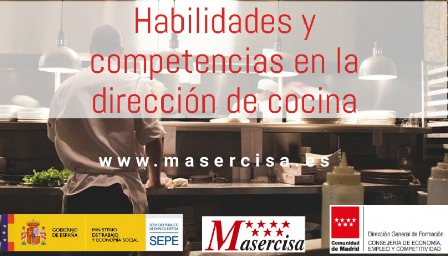 Curso de habilidades y competencias en la dirección de cocina